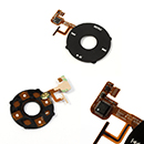 Flex cable Clickwheel Rueda de Teclado negro para Apple iPod Video 5G