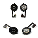 Cavo Flex Kabel mit Home Button Funktiontaste Apple iPhone 4G Schwarz