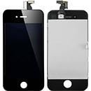 Kit Touch Screen Vetro Lcd Display Colore Nero Grado A Apple iPhone 4S (A1387)