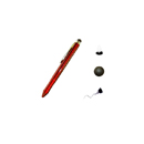 Touch Pen 3 in 1 Colore Rosso