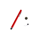 Penna Capacitiva 2 in 1 Colore Rosso Touch Screen Capacitivo Ultra Sensibile