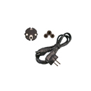 1.5 m Power Cord Schuko CEE Three cores 77 with C5 connector