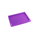 Funda Carcasa de Silicona Apple iPad 3 Violeta