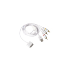 Cable AV Composit 1,8m y Usb Apple iPod iPhone iPad