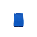 Funda Carcasa en Silicona Apple iPad Mini Azul