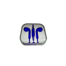 Stereo touch Auricular con microfono para Apple iPhone 5 Azul