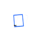 Complete Touch screen digitizer Blue with frame and home flex Aple iPad 2