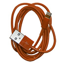 Cable de Datos Usb 2.0 Naranja Apple iPhone 5 (A1428)