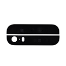 Black Cover Glass Top and Bottom Apple iPhone 5S
