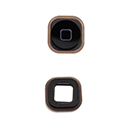 Black Home Button With Membrane Apple iPod Touch 5G