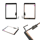 kit Touch Screen Vetro Colle e Tasto Home Colore Nero Apple iPad Air Grado A