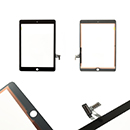 Touch Screen e Vetro Colore Nero Apple iPad Air (A1474) iPad Air e altri modelli