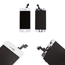Kit completo touch screen, lcd Display iPhone 5S Colore Bianco Grado A