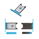 Light Blue Sim Tray Holder Nokia Lumia 800