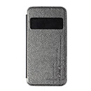 Custodia USAMS Flip Cover con Finestra Colore Nero