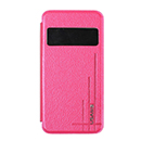 Custodia USAMS Flip Cover con Finestra Colore Rosa