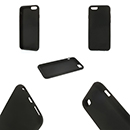 Black Cover Silicon Case Apple iPhone 6