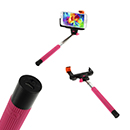 Asta Wireless Allungabile Autoscatto Selfie Colore Rosa