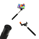 Extendable Monopod Wireless Self-Timer Selfie Nero Sony Ericsson Galaxy iPhone 4 4S 5 5C 5S P760 Optimus L9 P920 3D P970 Black P990 Dual i9000 S i9001 Plus i9020 Nexus i9070 Advance i9100 S2 i9220 Note i9250 i9300 S3 i9500 S4 LT15i Xperia Arc LT18i LT26i MK16i Pro MT11i Neo V MT15i X12i