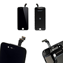 Kit Touch Screen Vetro Lcd Display Colore Nero Grado A Apple iPhone 6 (A1586)