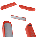 Stereo Speaker Wireless Bluetooth Colore Rosso