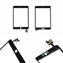 Black Touch Screen and Glass Digitizer IC Apple iPad Mini 3