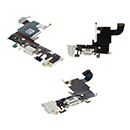 Flex Cable Conector de Carga con Jack Audio Blanco Microfono Antena Apple iPhone 6S