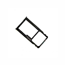 Black Sim Card and Micro SD Tray Holder Huawei Mate S
