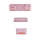 Kit 3 in 1 Volume Mute Stumm On Off Tasten Rose Gold Apple iPhone SE