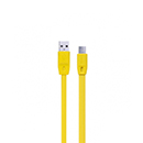 Yellow Micro USB Remax Fast Charge Data Cable Acer Galaxy Tab 2 Universal i8000 Omnia i8190 S3 Mini S5600 Halley i9000 S i9100 Si9250 Nexus i9020 Nexus S S550 Next N000 Note i9220 Note S5380 Wave Y S8530 Wave II i8150 W i900 S Advance i800 Omnia i9001 S Plus i9300 S3 i9500 S4 N100 Note S330 Pocket 3G S250 Wave M S8500 Wave S8600 Wave 3 M610 Beat Disc M600 Beat DJ S550 Blue Earth S3350 Ch@t TxT B5310 Corby Pro i5500 Corby Smartphone B3210 CorbyTXT E2530 E2600 G810 i8160 Ace G310 Ace Style i8520 B