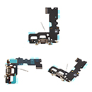 Flex Cable Conector de Carga Negro con Microfono Antena Apple iPhone 7