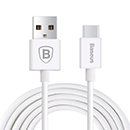 White Usb Data Cable Baseus Type C Samsung Galaxy OnePlus 2 Nexus 5X Nexus 6P P9 Lumia 950 Lumia 950 XL Zenfone 3 Note 7