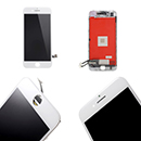 White Touch Screen Digitizer and Glass with Lcd Display Grade A Apple iPhone 7